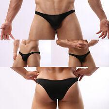 Men Bulge Pouch Boxer Briefs Shorts Thongs Underwear Breathable Trunks Underpant