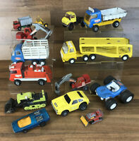 14x Vintage Bundle Diecast Tonka Lone Star Top Boy Made In England Cars Etc ++