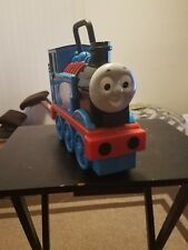 Thomas The Tank Engine Train Take Along Carrying Case 17 Car Holder Storage