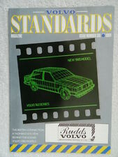 Volvo Standards Magazine Number 6 1984 -340, 360, 240, 260,740, 760 + Price List