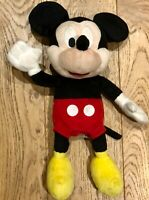 DISNEY MICKEY MOUSE Plush With Sounds (A Giggle &  A Sneeze) IMC Toys VGC