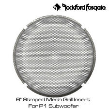 """Rockford Fosgate P1G-8 - 8"""" Stmped Mesh Grill Insert For P1 Subwoofer"""