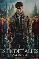 HARRY POTTER 7 - A3 Poster (42 x 28 cm) - Film Daniel Radcliffe Clippings NEU