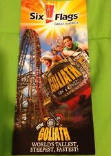 Six Flags Great America 2014 Park Map