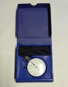 SEIKO STOPWATCH 88-5021 Vintage Hand Winding White Dial Watch