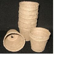 Peat pots 2 1/4 in. 20 pots for germination and propagation. Sale u