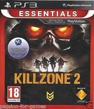 KILLZONE 2 for Playstation 3 PS3 - with box & manual - Essentials Edition