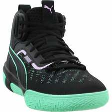 Puma Legacy Dark Mode Mens Basketball Sneakers Shoes Casual - Black