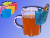 Teebeutel Halter für Teeglas, Tasse und Becher, Tee Halter und Tropfenfänger