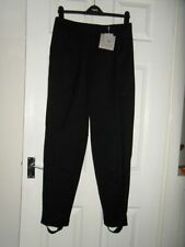 Wool Tapered High Tailored Trousers for Women