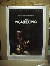 THE HAUNTING IN CONNECTICUT, orig rolled D/S advance 1-sht / movie poster ()