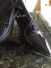 "Nickels ankle boot size 8.5, Black, 3"" Heel"