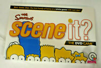 The Simpsons Scene It? DVD Game - Factory Sealed - Mattel
