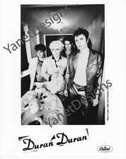 Duran Duran Photo Simon Le Bon Nick Rhodes Press Promo 8x10