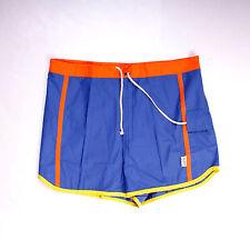 BNWT acquario vasca da bagno Suit Costume Da Bagno Pantaloncini Blu CASUALS VINTAGE W32 MADE IN ITALY