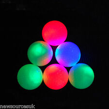 EliteShine Light Up Golf Balls with flashing LED lights