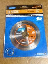 "NEW - NORTON CLASSIC 4"" DIAMOND BLADE - GRANITE / MARBLE / TILES"