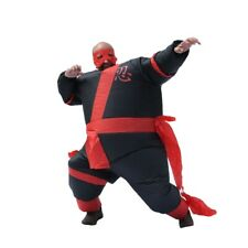 ALEKO Halloween Inflatable Party Costume - Warrior Ninja Suit - Adult Sized