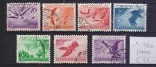 !  Liechtenstein 1939. Air Mail  Stamp. YT#A17/23. €45.00 !