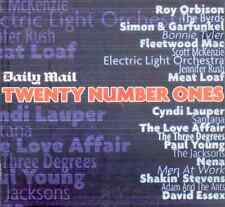 20 NUMBER ONES: PROMO CD - BYRDS, NENA, ELO, SANTANA, ROY ORBISON, DAVID ESSEX