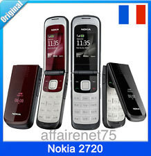 Téléphone Portable NOKIA 2720 Neuf Débloqué Bluetooth MP3 Radio Video Java
