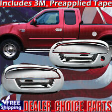1997-2003 FORD F150 Std/Ext Cab Chrome 2 Door Handle COVERS Overlays No PsgrKH