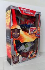 Transformers 2007 Movie RARE GIFTSET Megatron VS Optimus Prime MEXICO EXCLUSIVE!
