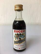 Mignon Miniature Elixir Rabarbaro Zucca 4cl 16% Vol B.