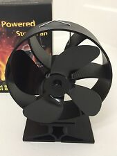 Italian Designed Eco Stove Log Burner heat powered stove Fan Eco Friendly