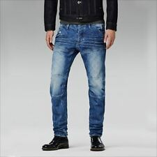 G Star 5620 Low Cónico Jeans De Hombre Wisk Denim Talla W28 L32 (50790 5689 424)
