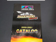 2000-2001 MUGEN SEIKI RACING CATALOG R/C CARS TRUCKS BUGGY *VG-COND*