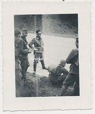 Foto Soldaten -Wehrmacht im Gebirge-Orden  2.WK (W489)