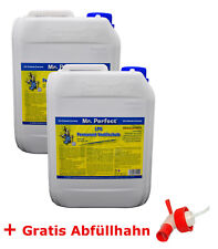 2x5 L Mr.Perfect Gas Valve Saver Autogas Additiv LPG Ventilschutz + Ablasshahn