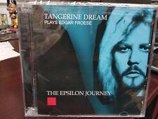 TANGERINE DREAM - Plays Edgar Froese The Epsilon Journey CD Live 2008 Prog Rock