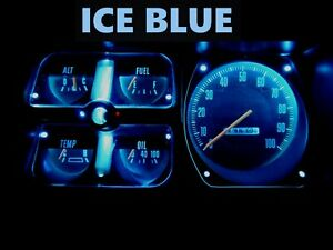 Gauge Cluster LED Dashboard Bulb Ice Blue For Dodge 72 80 D100 - D350 Truck
