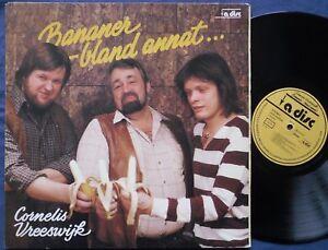 CORNELIS VREESWIJK Bananer - Bland Annat... Swedish LP 1980. Folk