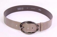 Designer  Jeansgürtel  Damengürtel Basicgürtel braun taupe BR18