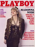 PLAYBOY September 1985 Madonna > Unlike A Virgin > COVER PRINT > 🐰🎵🐰