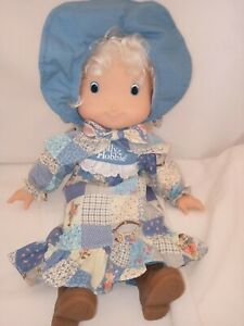 Hollie Hobbie Soft Rag Doll has Rubber Boots and Original Outfit 37cm