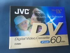 JVC DVM60 Digital Video Mini DV Cassette SP Mode M-DV60DE New & Sealed x2
