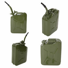 Jerry Can 5 Gal 20L Green Steel Gasocline Gas Fuel Tank Emvergency Portable New
