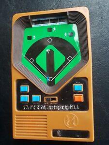 Mattel Classic Baseball Vintage Electronic Handheld Game 2001