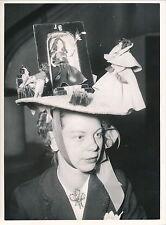 MODE c. 1950 - Création Chapeau Couture   DIV 4850