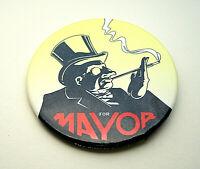 WB Batman Returns Penguin The Mayor Movie Promo Button Pin New NOS 1992