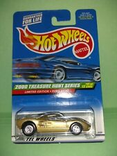 Hot Wheels 2000 Treasure Hunt Ford GT-40 The 1st time with super real riders