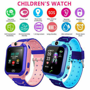 Kids Smart Watch With Camera Waterproof Games Flashlight Call