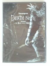 New Songs for Death Note Movie Last Name Tribute OST Soundtrack CD 14T Anime