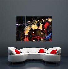 DEVIL MAY CRY 4 console di gioco ps3 Poster Art Print GIGANTE Large wa036