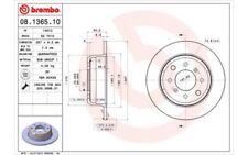 BREMBO Juego de 2 discos freno 267mm ALFA ROMEO GT SPIDER GIULIA 08.1365.10