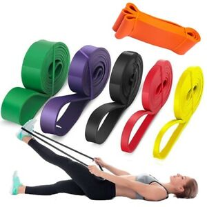 Pull Up Resistance Bands Assist Exercise Workout Band Set for Fitness Strength;